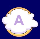 Clouds: learning vowels. #vowels #letters #preschool #kids #toddlers #education #reading #reinforce #English