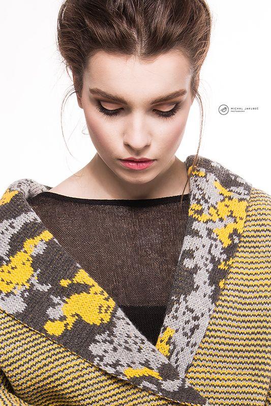 Model: Sara Antalova Agency: HM models Visage: Lucia Woloszyn Freund Fashion designer: Sisa Hollá  Dress styling: Sisa Hollá Textile designer : Romana Skladanova Photo: Michal Jakubec