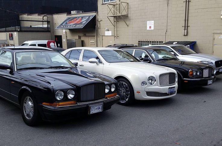 92 отметок «Нравится», 1 комментариев — @rrandbfreak в Instagram: «3 generations of Bentley, Continental R, Mulsanne and Arnage. #bentley #mulsanne #continentalr…»