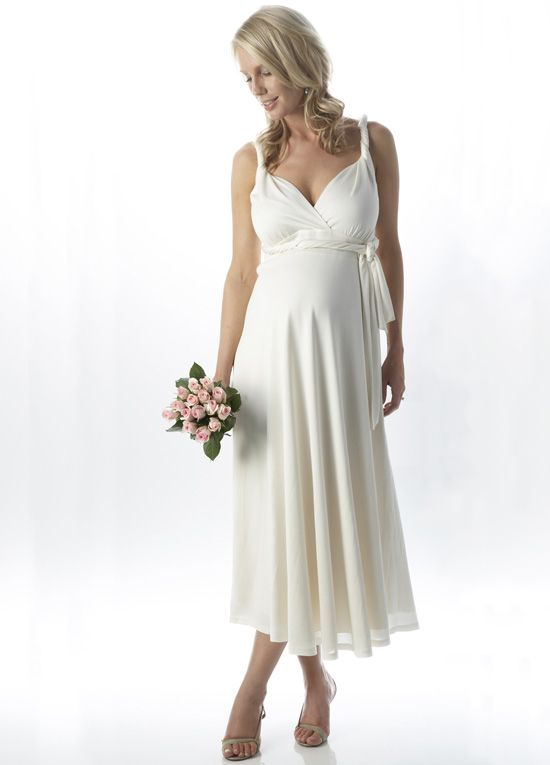 Pregnant and in need of a wedding dress?