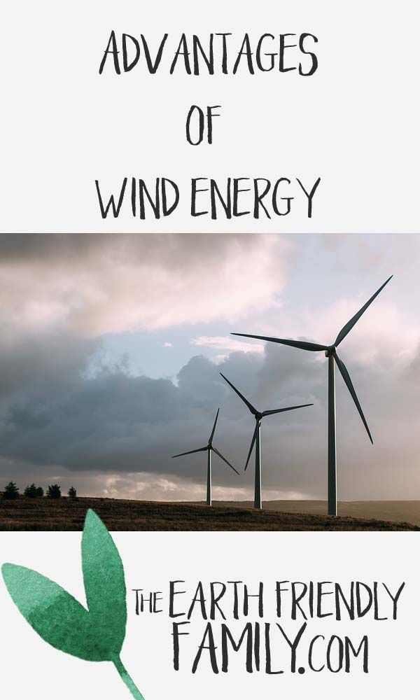 Advantages of wind energy include a reduced carbon footprint. Read the article here: http://www.theearthfriendlyfamily.com/advantages-of-wind-energy/