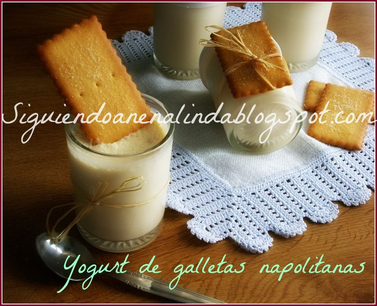 Yogures de Galletas Napolitanas .....