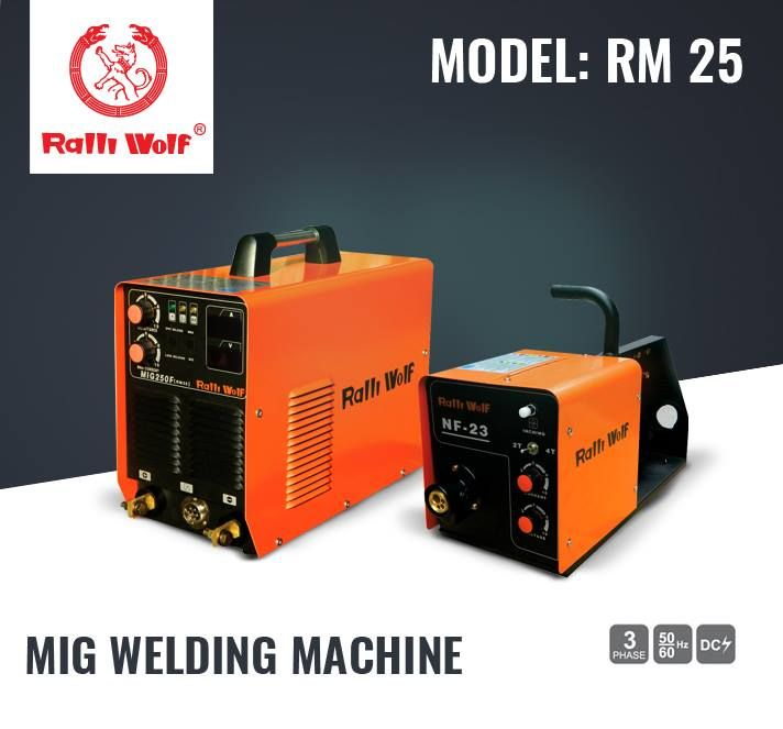 #MIG #Welding #Machines are easy to operate and designed as per the industry standards. Require minimal maintenance.