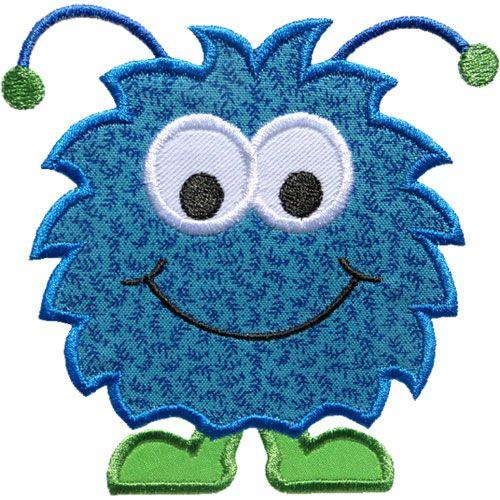 Happy Monster Applique by HappyApplique.com