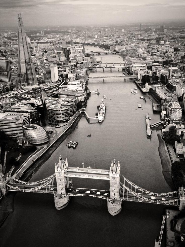 Twitter / MPSinthesky: Tower Bridge in London this morning, ...