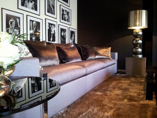 The Netherlands Private Residence Living Room Ron Galella Eric Kuster Metropolitan Luxury
