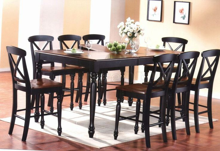 Top 25 ideas about dining room on pinterest counter for 2 tone dining room sets