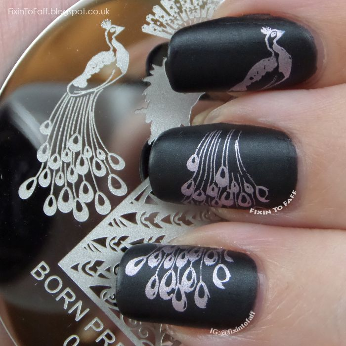 I find an excellent product on @BornPrettyStore, Dancing Peacoak Theme Nail Art Stamp Templat... at $2.99. http://www.bornprettystore.com/-p-16851.html