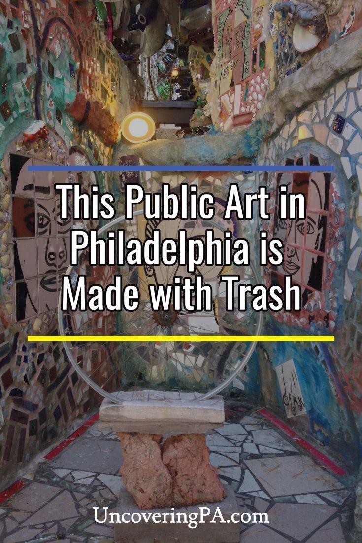 The Magic Gardens in Philadelphia, Pennsylvania via @UncoveringPA