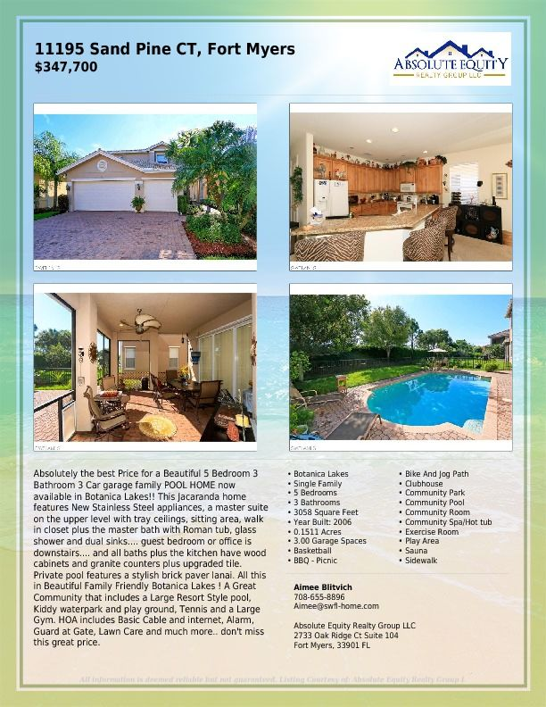 Ious Two Story With A Pool Under 350 000 In Botanica Lakes Gl Homes