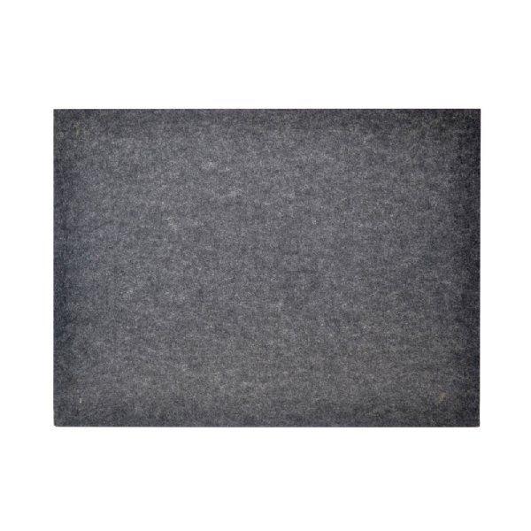 AL+EM Rectangle Pin Board - Charcoal