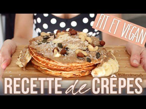 A FAIRE Recette de crèpes fit, healthy & vegan par Sissy
