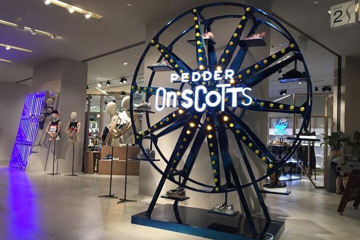 Pedder on Scotts Shop Display by Mes Workshop, Scotts Square – Singapore