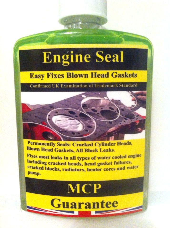 ENGINE BLOCK SEALS,MCP CRACKED CYLINDER BLOCKS & REPAIR BLOWN HEAD GASKETS.500ML