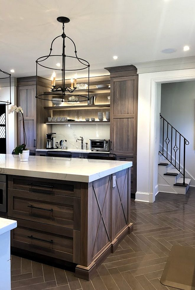 Kitchen Renovation With Grey Stained Oak Cabinets Cabinets Grey