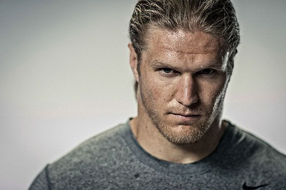 Yowza..... Train Like The Claymaker: Clay Matthews' Off-Season Workout - Bodybuilding.com