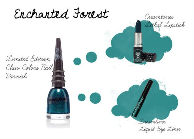 Enchanted Forest by manic-panic-uk on Polyvore featuring beauty and Manic Panic