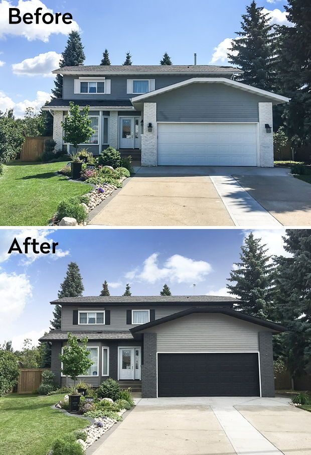 Before & After: Quick Curb Appeal Makeovers | my current