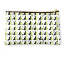 'Yellow Pyramid Pattern'travel purse by piedaydesigns