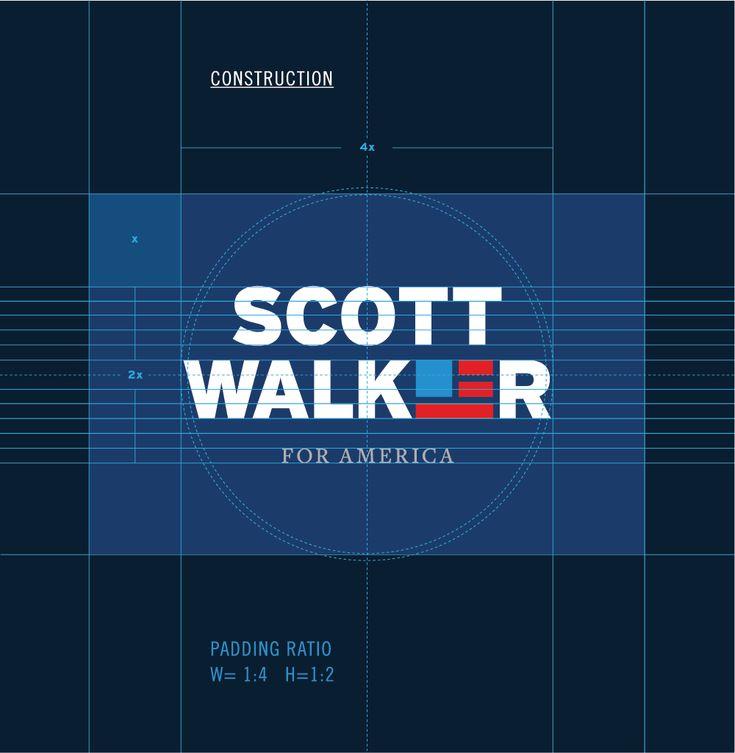 New Logo for Scott Walker done In-house