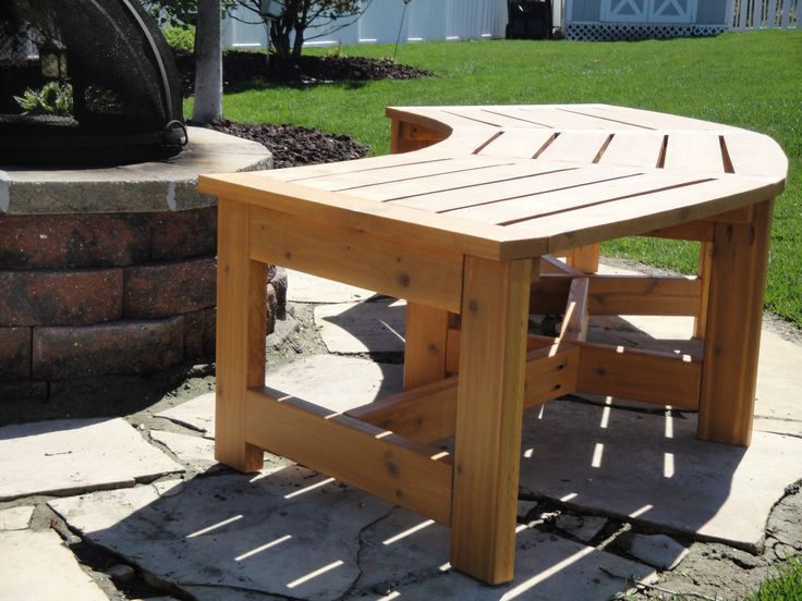 curved firepit bench kreg ownersu0027 community