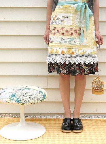 Dottie Angel: An apron that would make me feel pretty.
