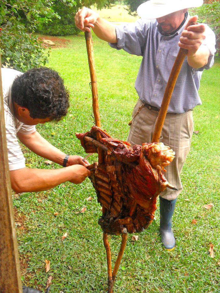 The South American art of the asado - bbq-Posadas, Argentina