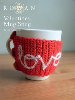 Show your loved one you care this Valentine's Day by crocheting this cosy mug hug! Designed by Lisa Richardson using our wonderfully soft machine washable worsted weight yarn, Pure Wool Worsted (wool), this hug can be embellished with the message of your choice.