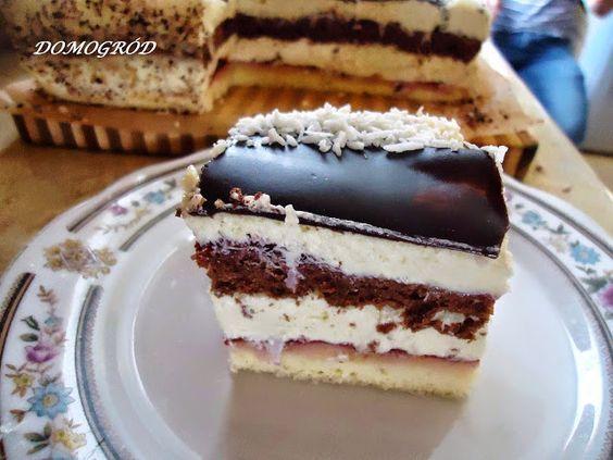 kokosowe ciasto tortowe