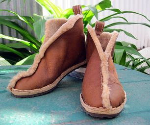 Toasty warm and super comfy genuine shearling boots can be yours in a few relaxing hours.  Shearling is sheep leather tanned with the wool still attac...