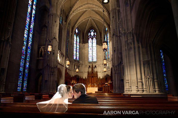 Heinz Chapel wedding | Pittsburgh wedding photographers | Aaron Varga Photography