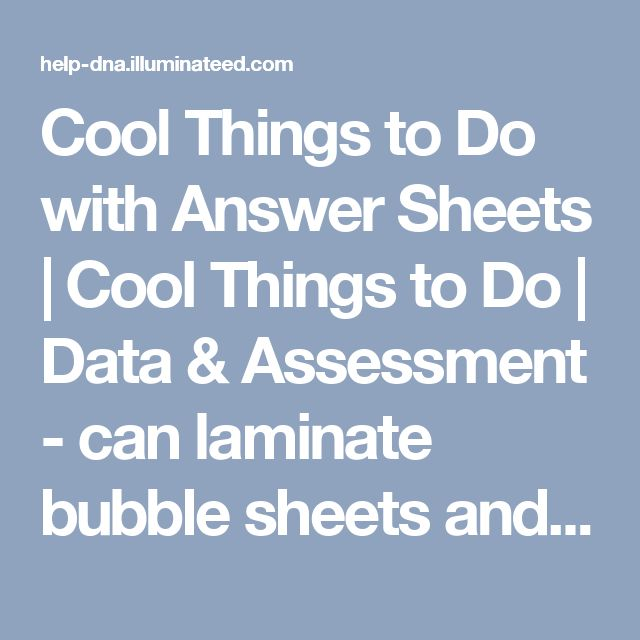 Cool Things To Do With Answer Sheets Data Essment Can Laminate Bubble And Reuse Pinterest Middle School History
