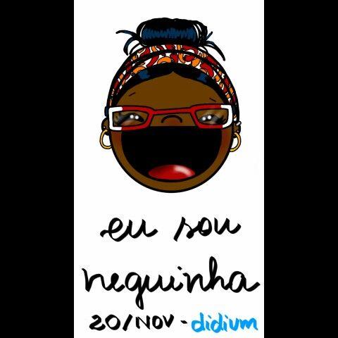 Dia da consciência negra - eu sou neguinha #diadaconsciêncianegra #eusouneguinha #didium #desenho #draw #ilustração #illustration #desenhodigital  #dasérieabsurdas #vulgobocudinhos