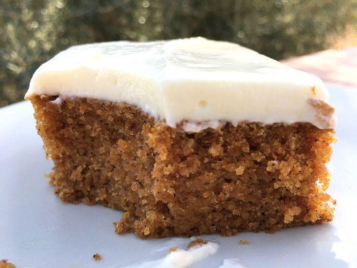 tarta para llevar tarta de zanahoria tarta de frutas recetas delikatissen cobertura no muy dulce cobertura de queso crema Carrot cake bizcocho jugoso bizcocho especiado