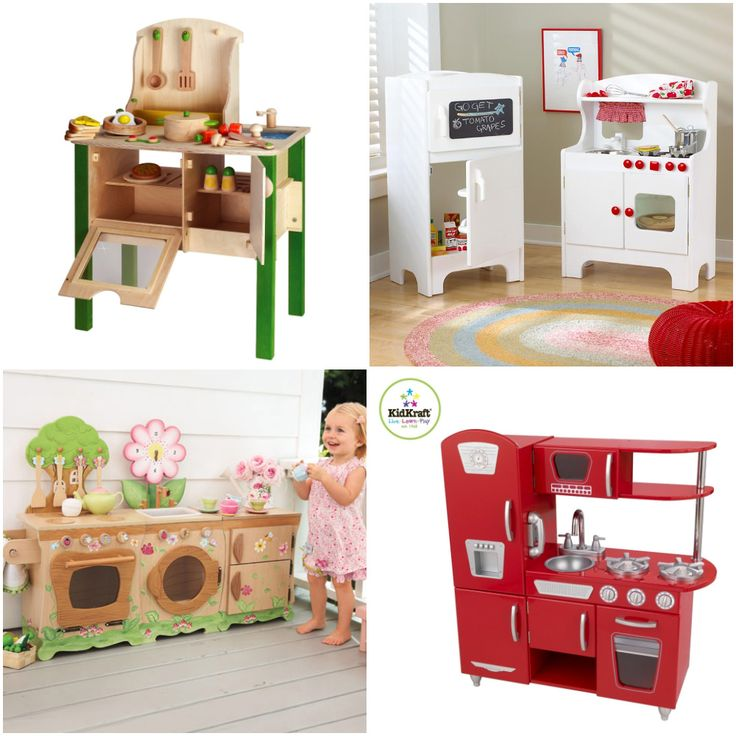 The Play Kitchen Is A Classic Toy That Your Kid Will Enjoy For Years. It  Takes Up A Chunk Of Space In Your Home, So You May Want One With A Smaller  ...