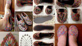 Örgü Terlik/Ayakkabı Nasıl Yapılır ?