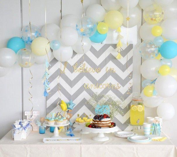 I BELIEVE IN UNICORNS|バースデーパーティー事例|誕生日|birthday|ユニコーン|5歳|男の子|女の子|Little Lemonade|ARCH DAYS