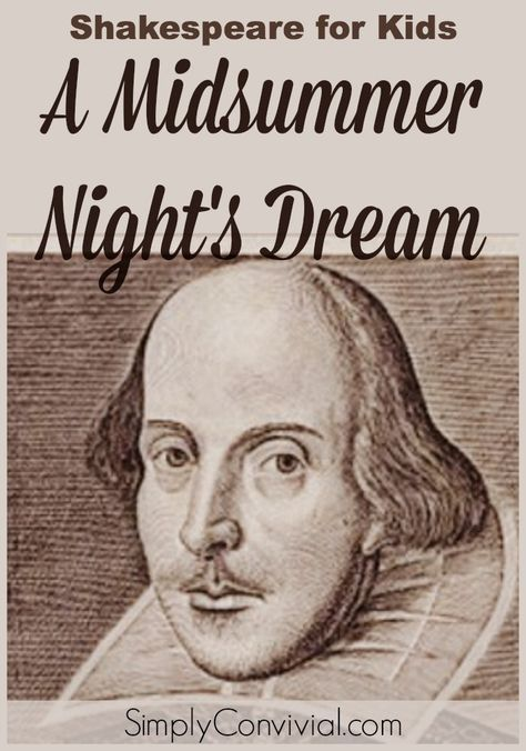 wordplay in the play a midsummer nights dream by william shakespeare A short summary of william shakespeare's a midsummer night's forgiveness and approval and to urge it to remember the play as though it had all been a dream.