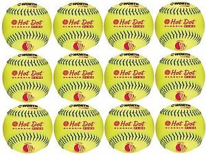 a vale la pena hot dot usssa 12 lento pitch softball uhd12sy docena