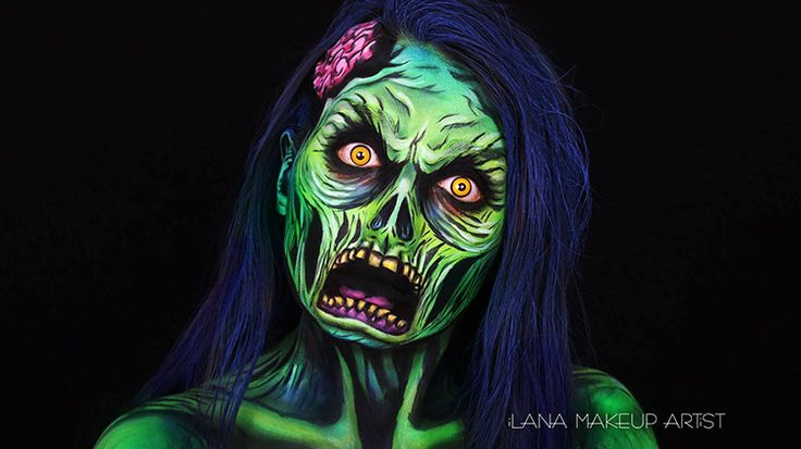 I love this one, I may take inspiration from this piece and have my zombie with an open mouth expression.