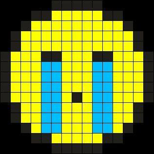 11 mejores imgenes de Perler Beads Emojis en Pinterest  Emojis