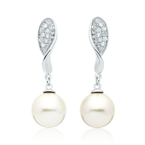Affluence Pearl Drop Earrings