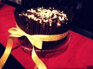 Mega čokoládová torta