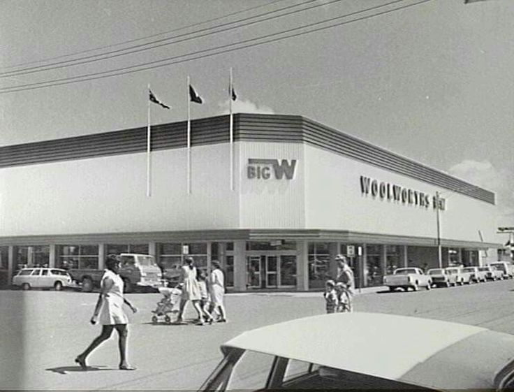 "BW Darwin.  1968/69. This building still presides over the corner of Smith and Knuckey Streets. In 2016 it has been brought back to life, housing retail and food outlets.  It will always be the ""Woolworths""building to us."