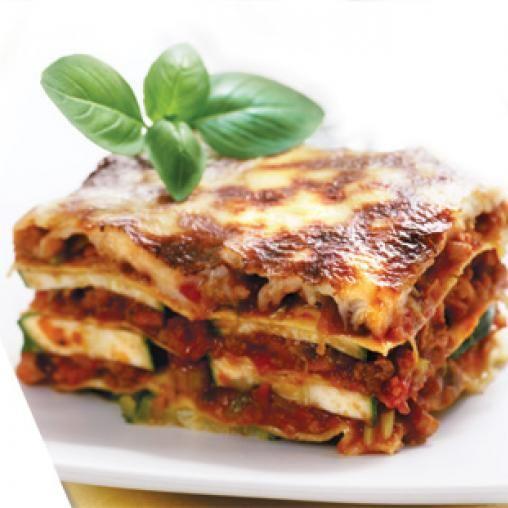 Beef and vegie lasagne