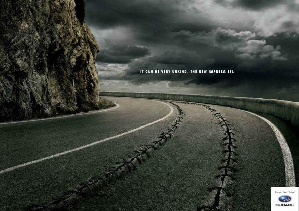 ADV for Subaru | Art director: Cristiano Guerra | Copywriter: Giuseppe Pavone | Post production: Giorgio Lari