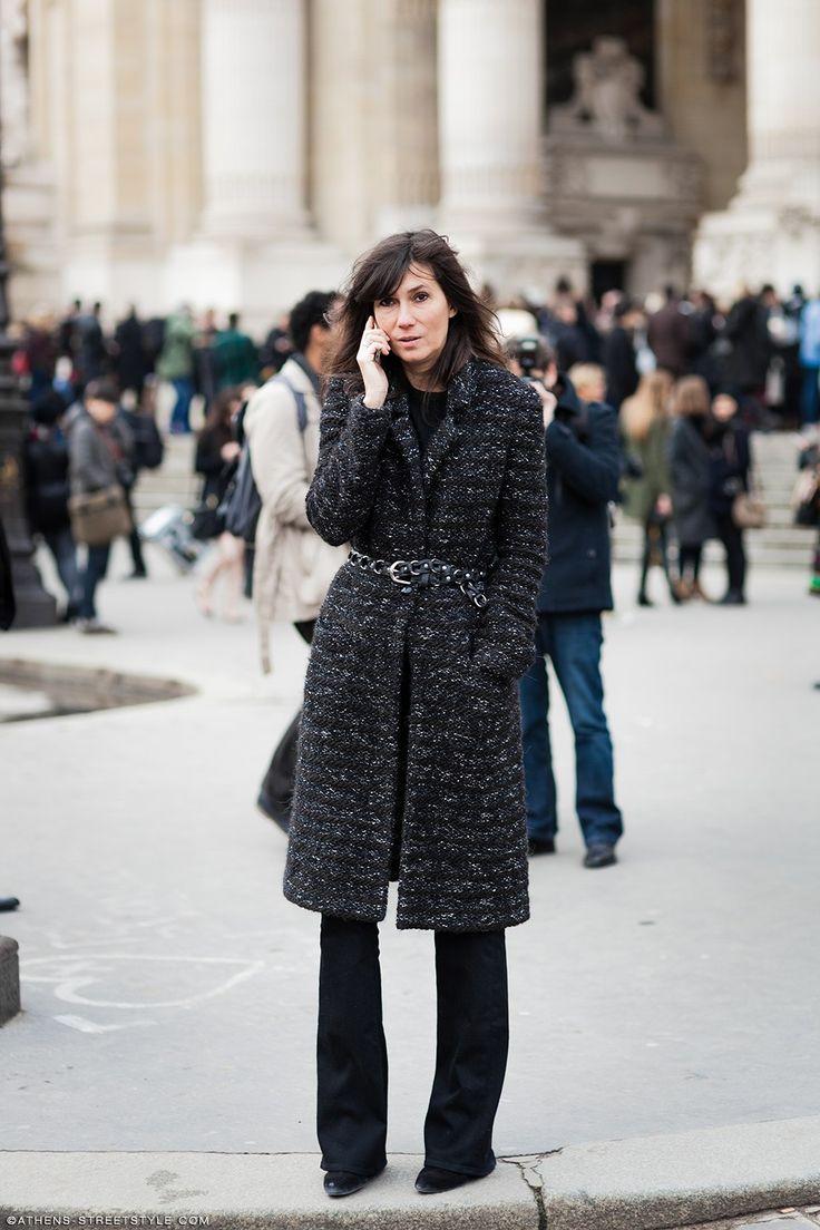 Emmanuelle Alt | Paris Haute Couture Fashion Week Spring 2015