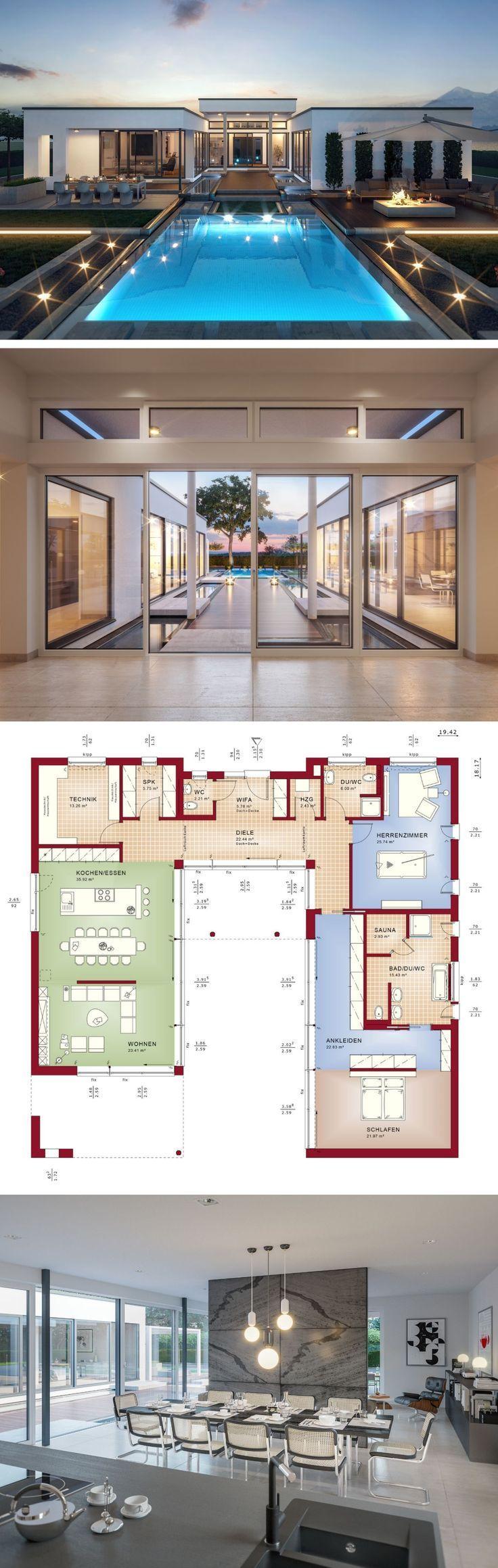 Bungalow Minimalist European Style Architecture De…