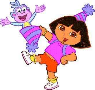 Imagenes de dora de cumpleaños , Dora y botas te acompañan para celebrar tu cumpleaños. Si estás buscando imagenes para decorar su próximos...