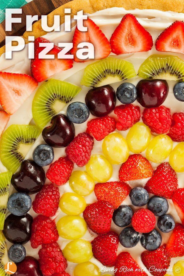 The 25 Best Fruit Pizza Dessert Ideas On Pinterest